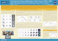 The Dust and Cloud Distribution of the Torus of NGC 1068