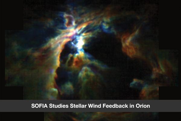 SOFIA Studies Stellar Wind Feedback in Orion