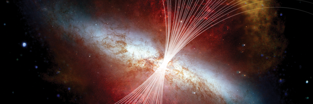 Magnetic Highway: Channeling the M82 Superwind