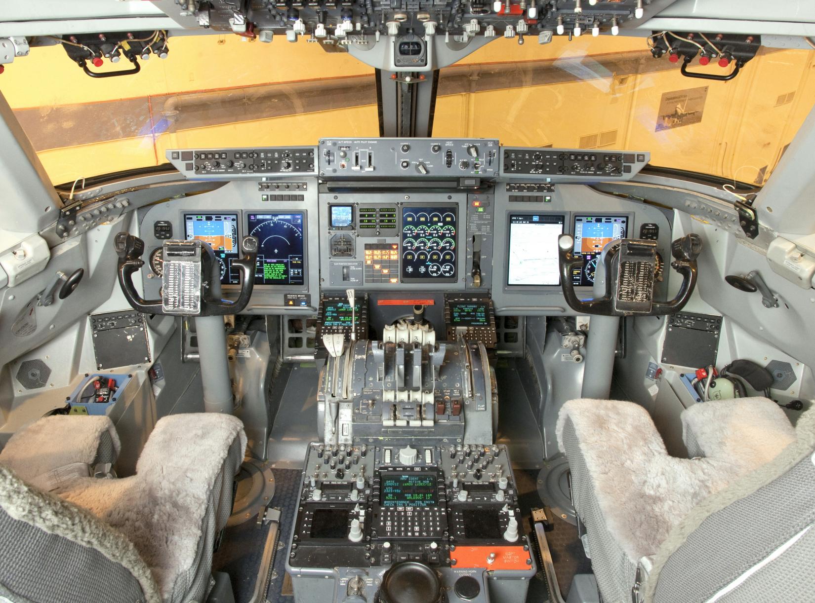 SOFIA's cockpit after avionics upgrade