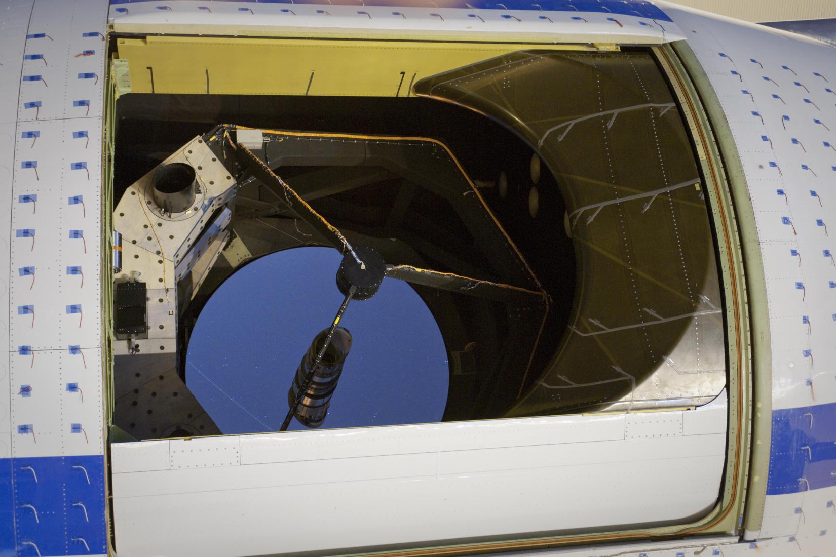 SOFIA Telescope and Cavity