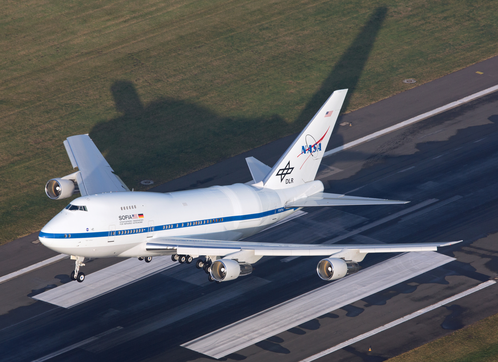 SOFIA takes off from Hamburg