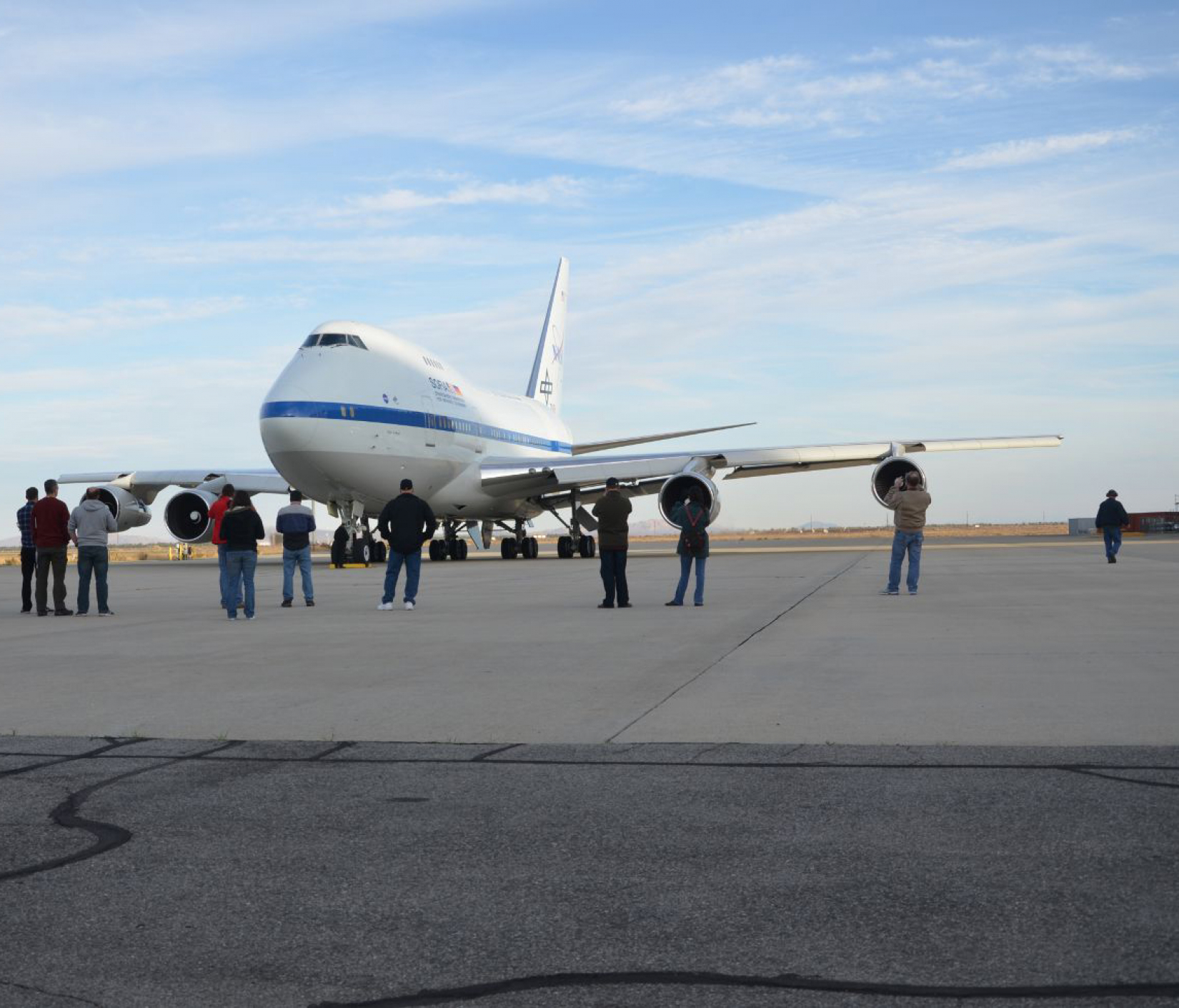 SOFIA arrives in Palmdale
