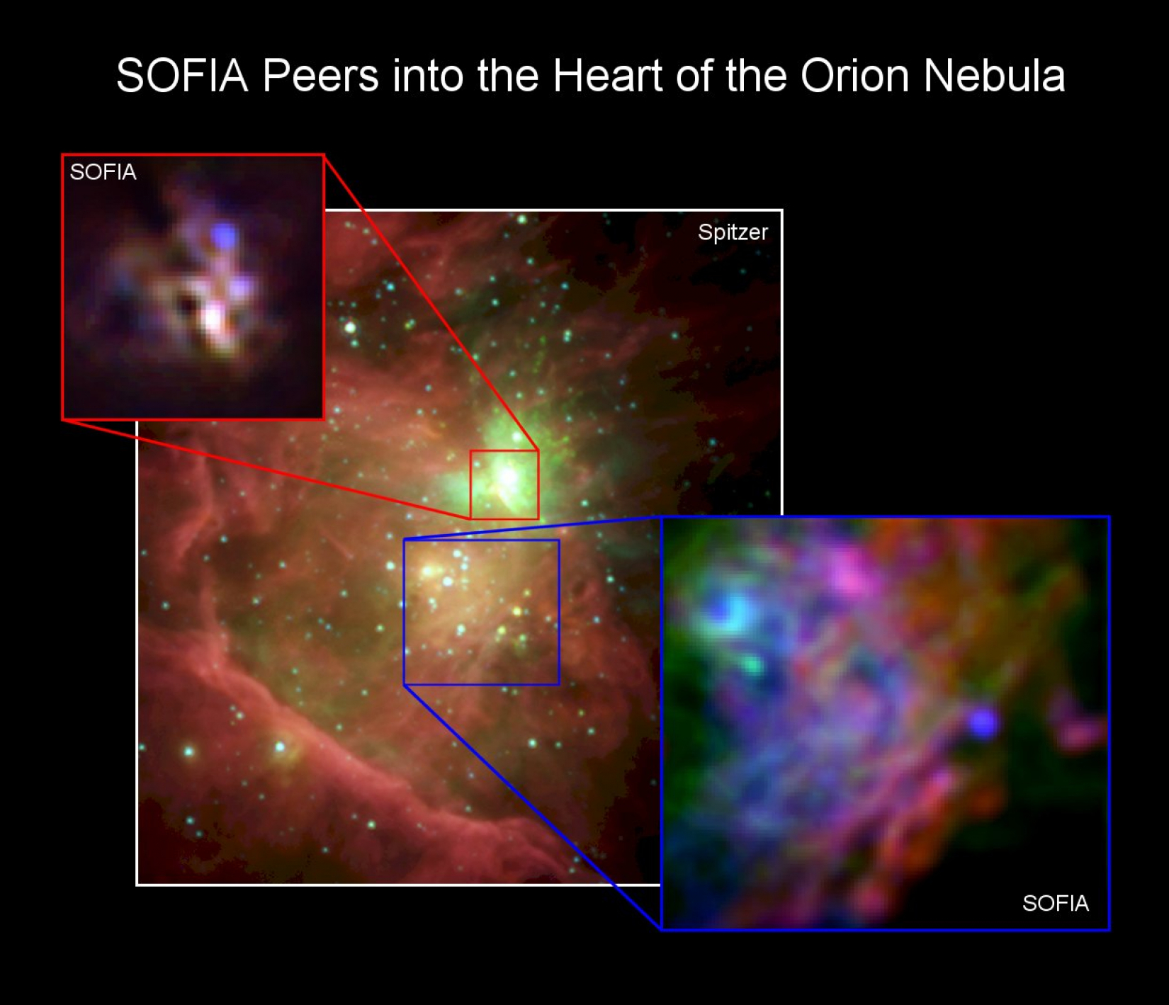 SOFIA Peers into the Heart of the Orion Nebula