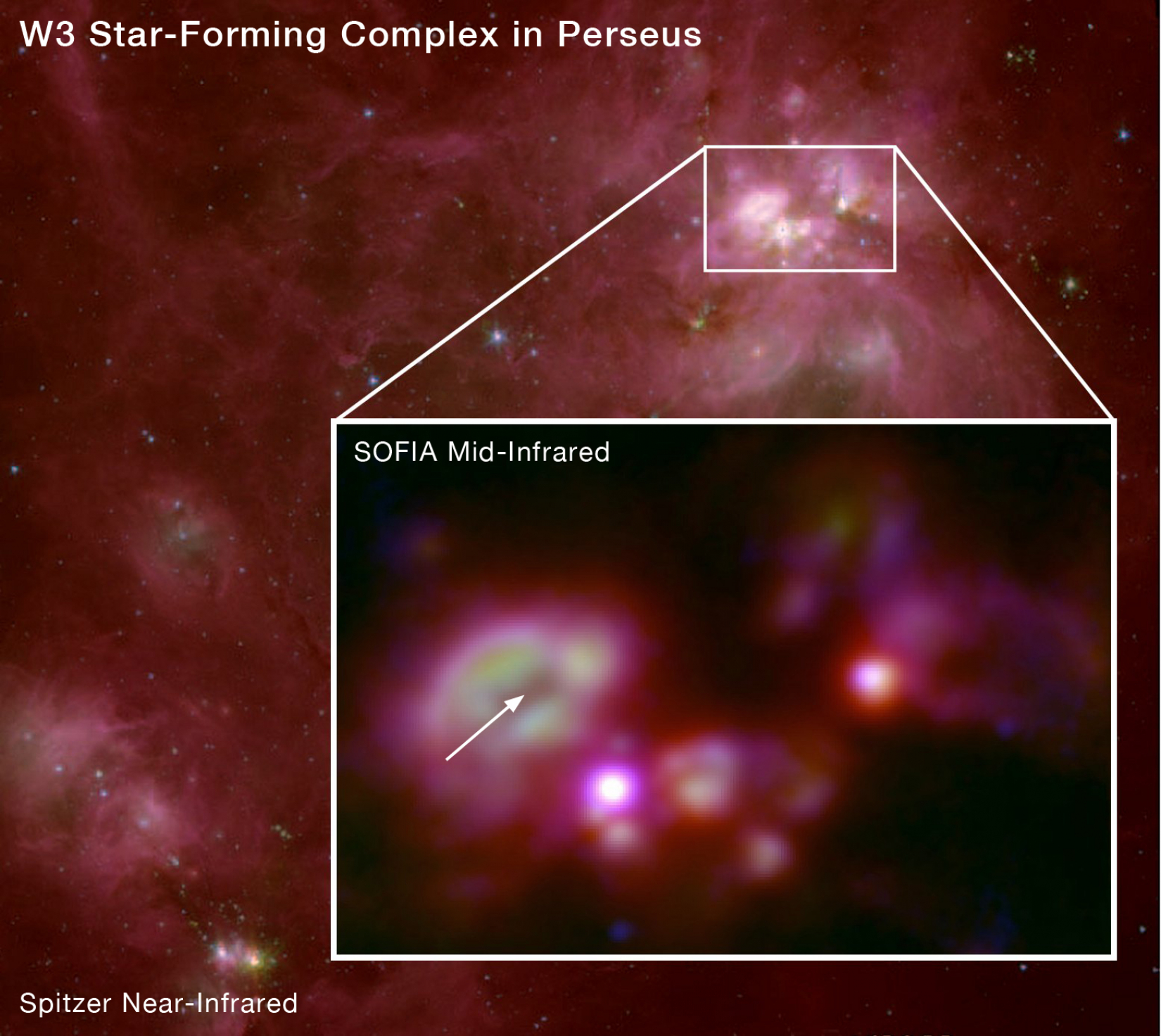 W3 Star-Forming Complex in Perseus
