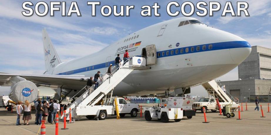 SOFIA Tour at COSPAR