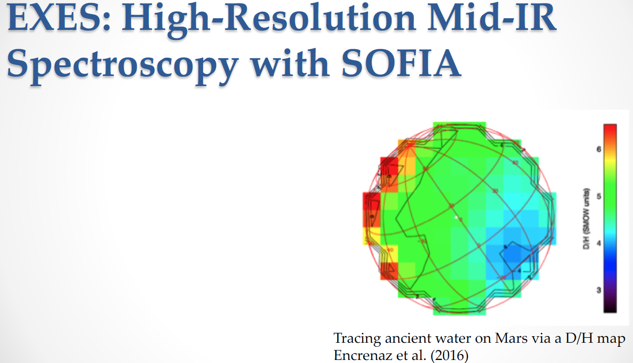 EXES High-Resolution Mid-IR Spectroscopy with SOFIA