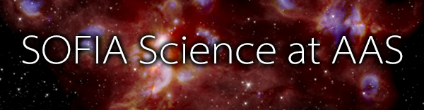SOFIA Science at AAS banner