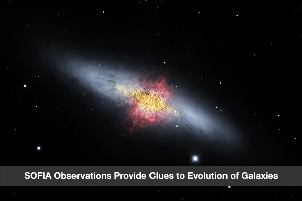 SOFIA Observations Provide Clues to Evolution of Galaxies