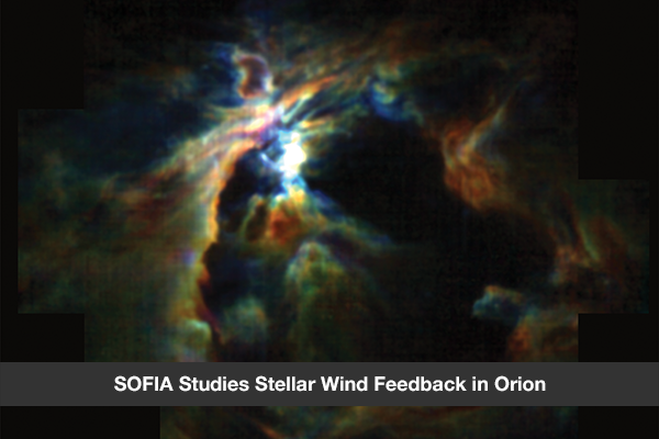 SOFIA Studies Stellar Wind Feedback in Orion