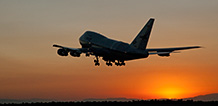 SOFIA takes off into the sunset