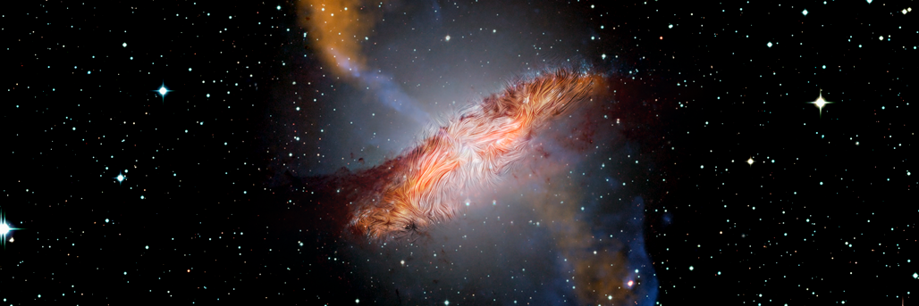 The Warped Magnetic Field of Centaurus A