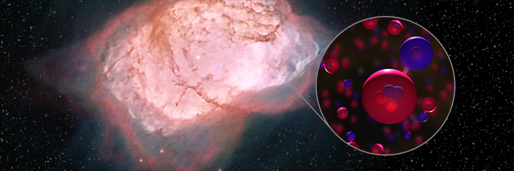 First Astrophysical Detection of a Very Special Molecule
