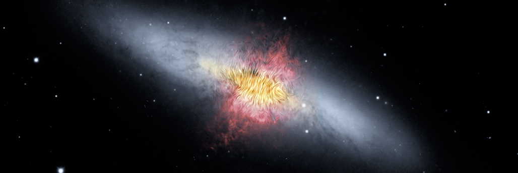 Weighing Galactic Wind Provides Clues to Evolution of Galaxies