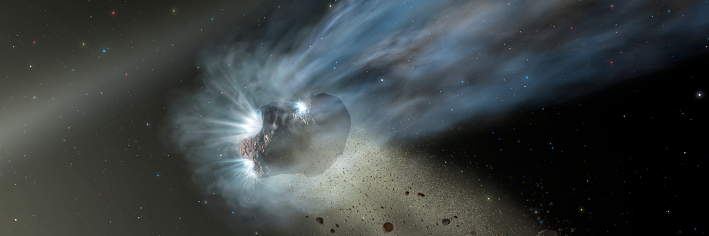 Observations of a Comet's First Passage through the Solar System Reveals Unexpected Secrets