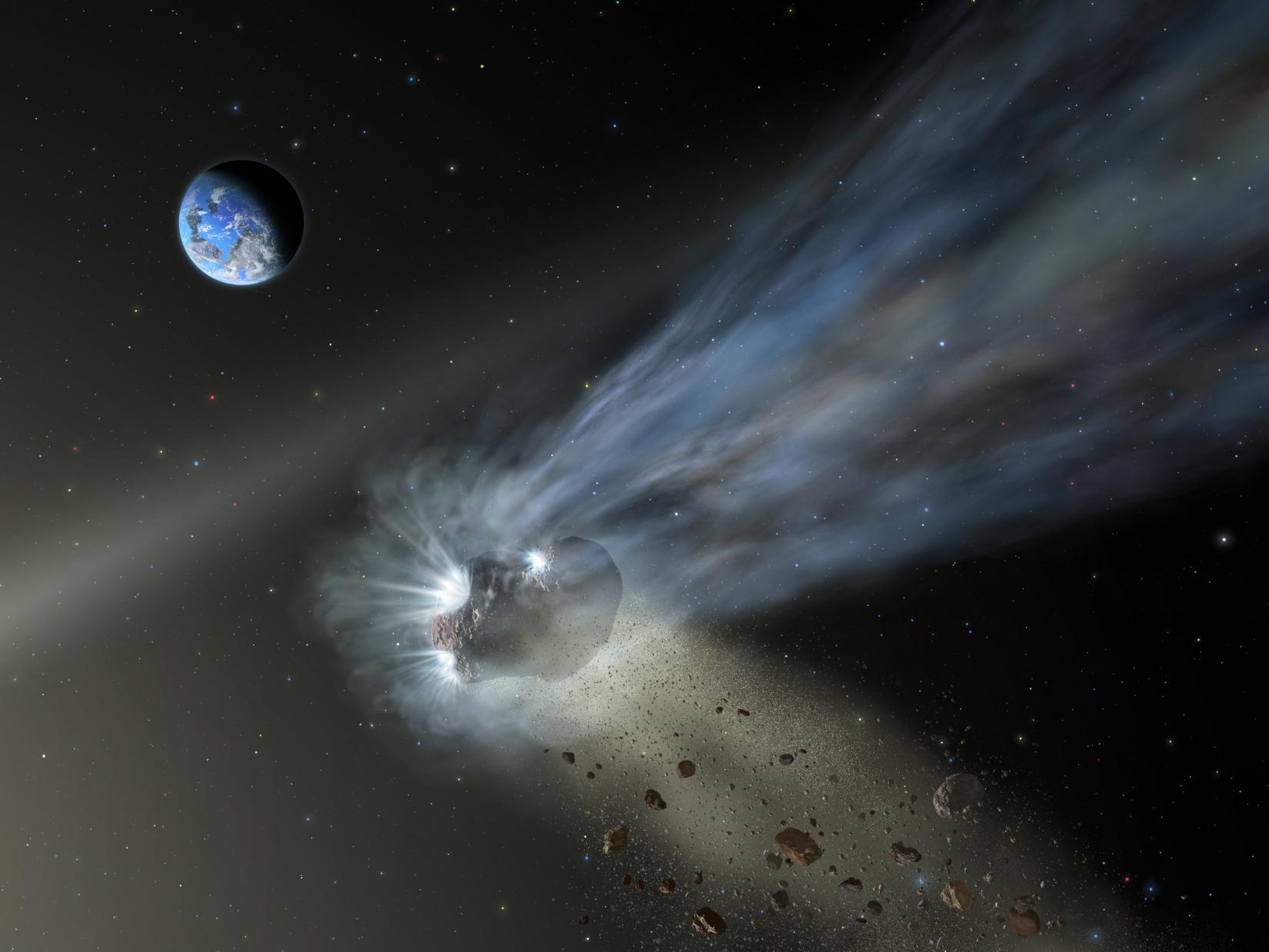 Artist's depiction of Comet C/2012 K1