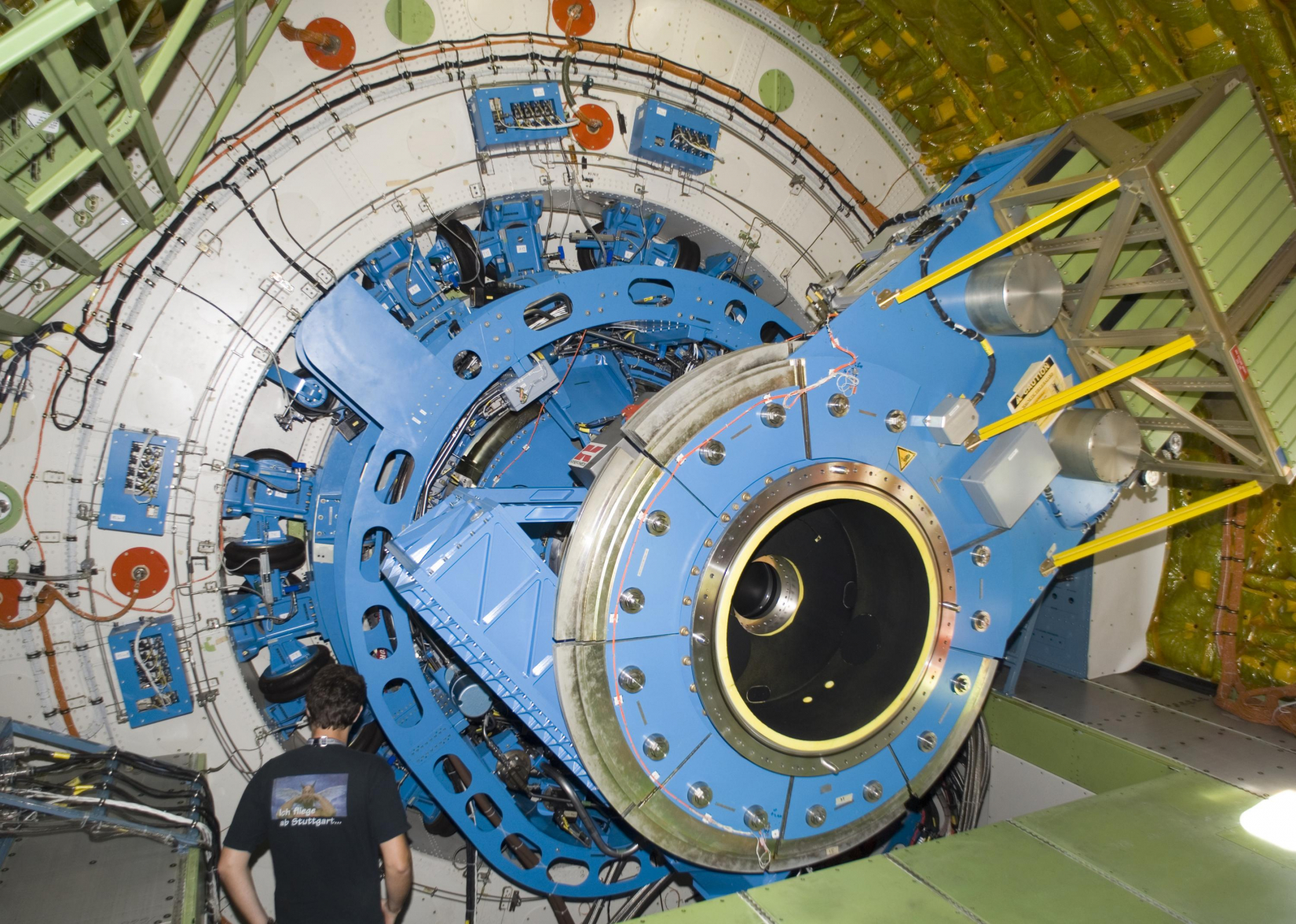 SOFIA telescope without instrument installed