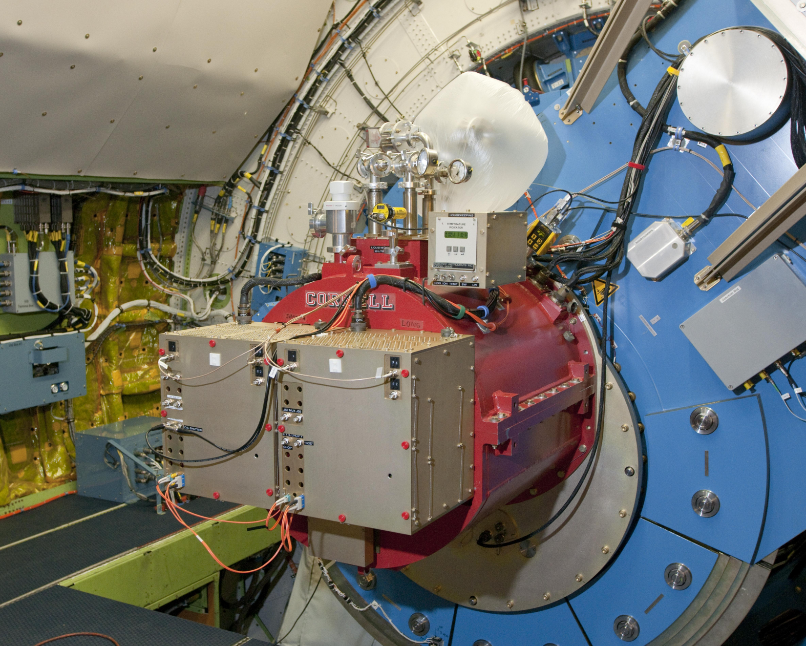 FORCAST instrument on SOFIA telescope