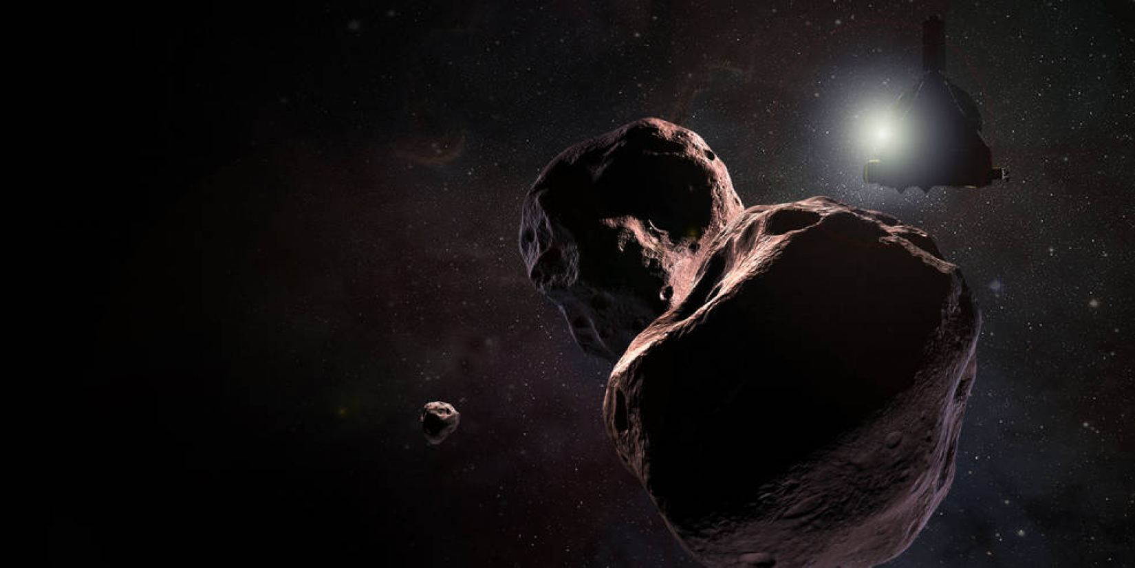 New Horizons approaches MU69