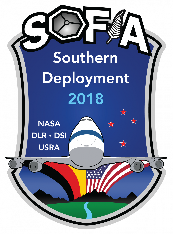 SOFIA 2018 Southern Deployment patch