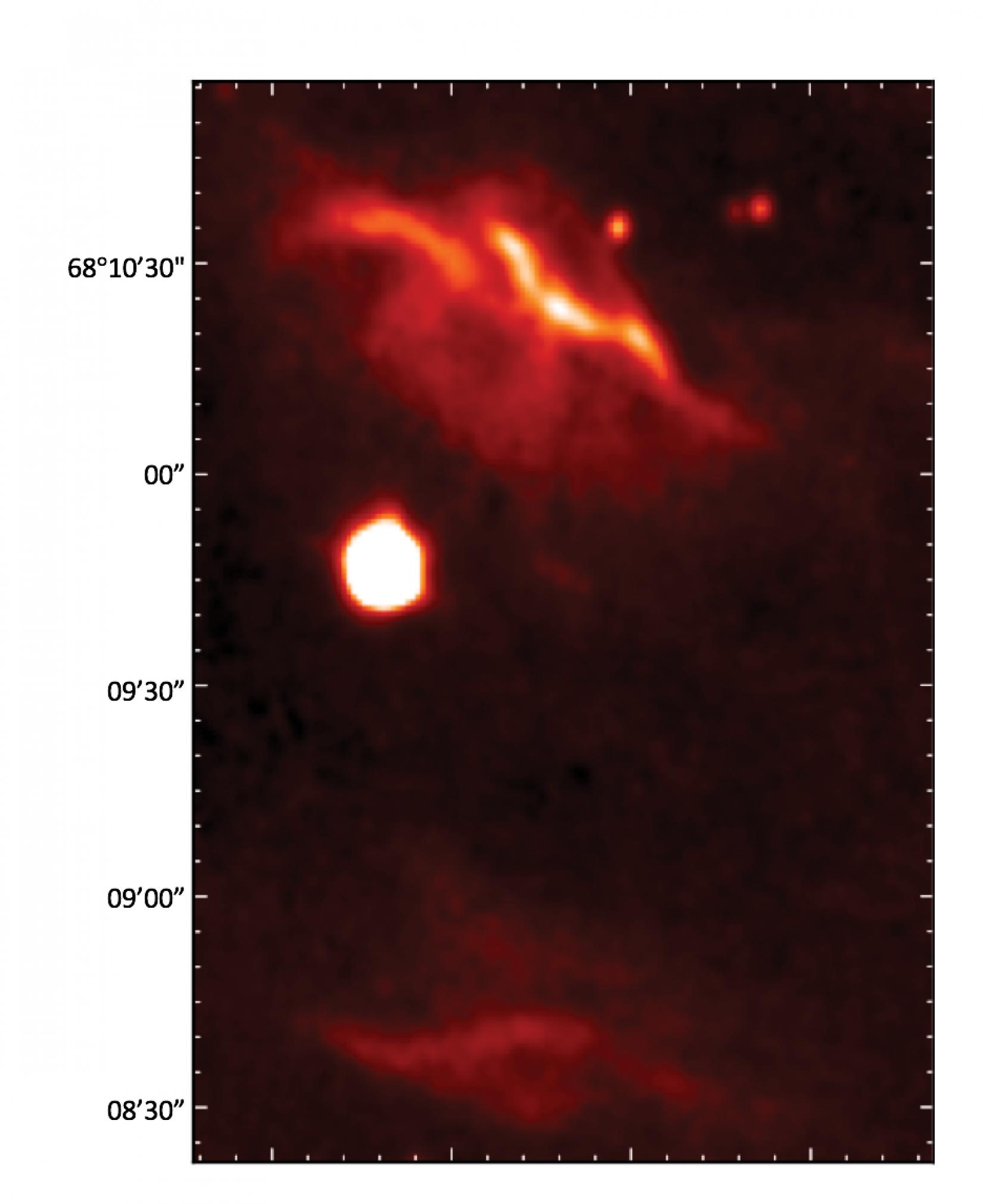 NGC 7023 at 3.3 μm