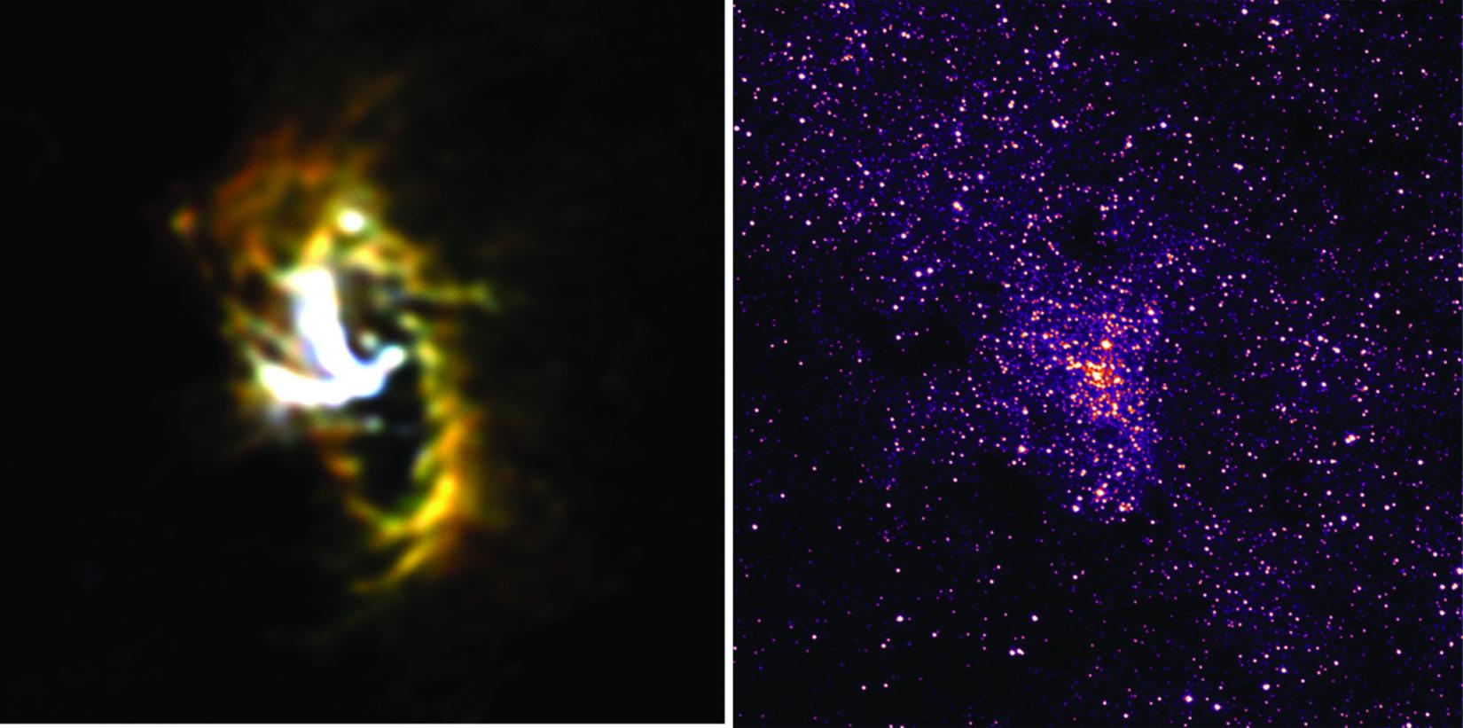 Milky Way Galaxy Circumnuclear Ring (no labels)