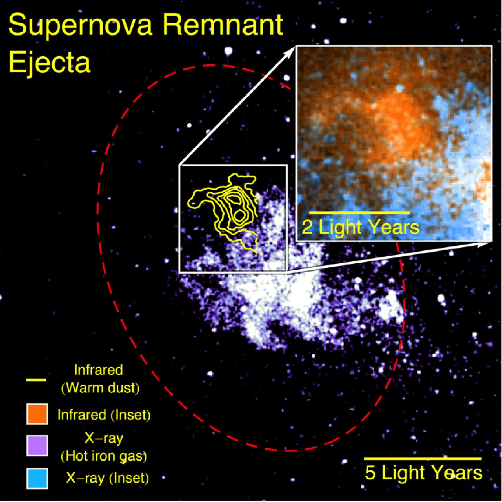 Supernova Remnant Ejecta