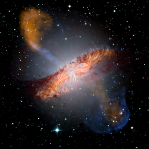 Composite image of Centaurus A